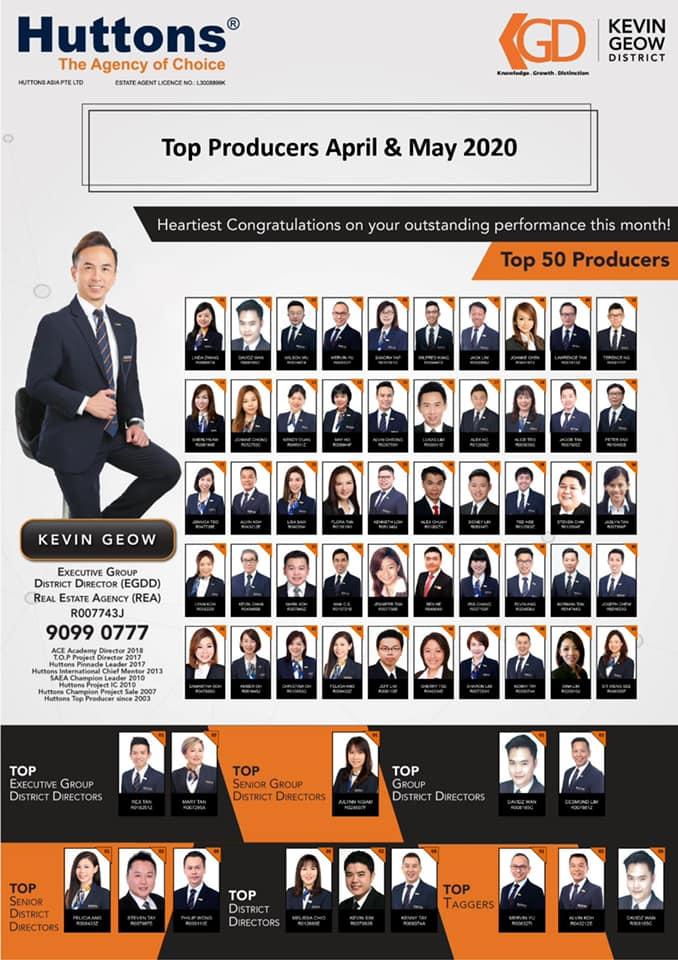 April / May 2020 Producers